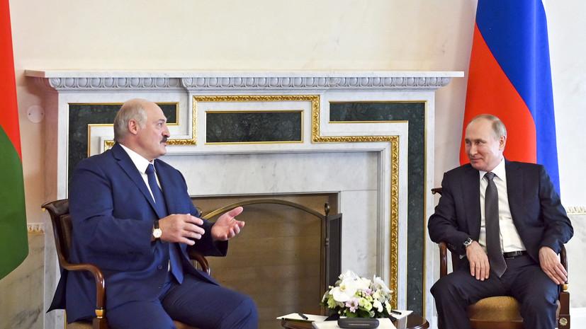 Лукашенко назвал темы предстоящих переговоров с Путиным