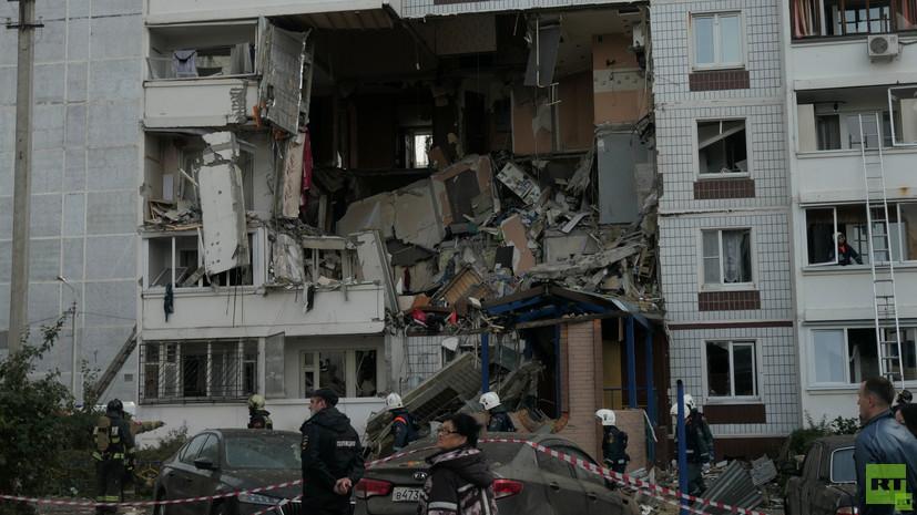 Жителям пострадавшего от взрыва газа дома в Ногинске пообещали позаботиться об оставленных вещах