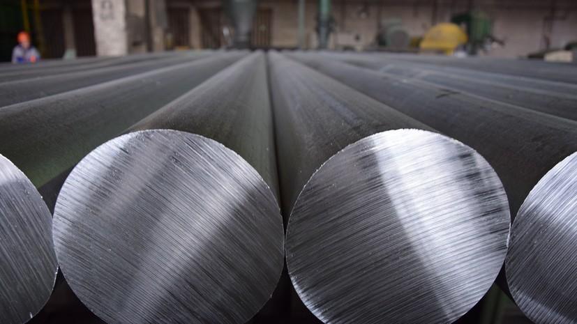 Стоимость алюминия установила рекорд за 13 лет
