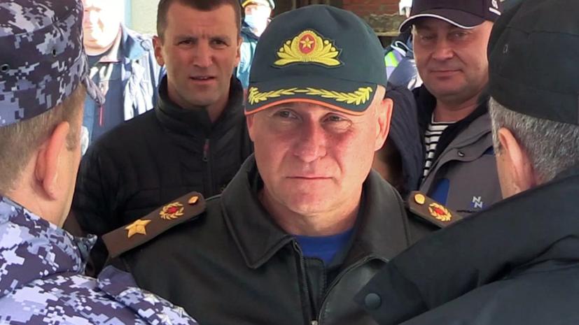 Глава МЧС Казахстана выразил соболезнования в связи с гибелью Зиничева