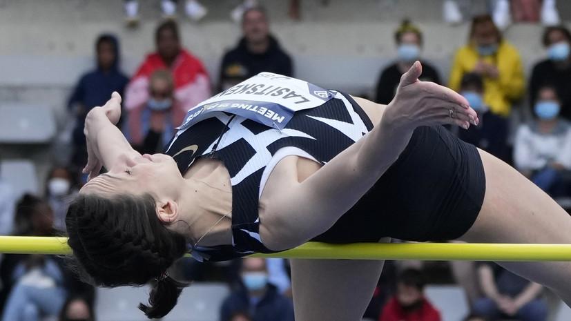Ласицкене выиграла финал Бриллиантовой лиги в прыжках в высоту