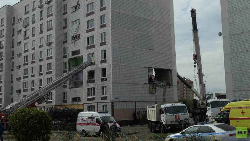 Число погибших при взрыве в Ногинске достигло пяти