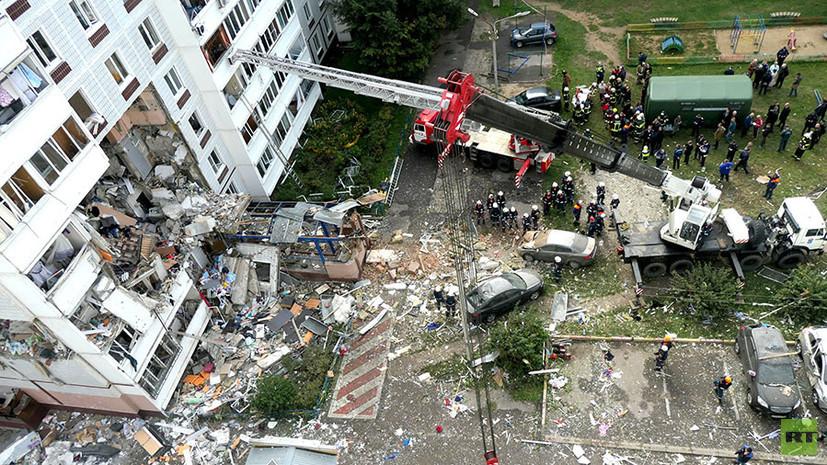 «Разбор завалов продолжается»: сообщается о росте числа погибших при взрыве газа в жилом доме в Ногинске до семи