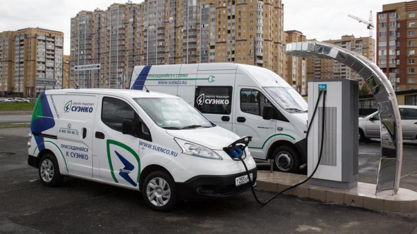 В Тюменской области в 60 раз увеличилось число электрокаров