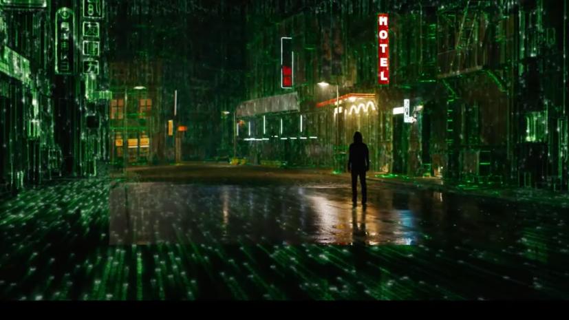 В сети вышел первый трейлер фильма«Матрица: Воскрешение»