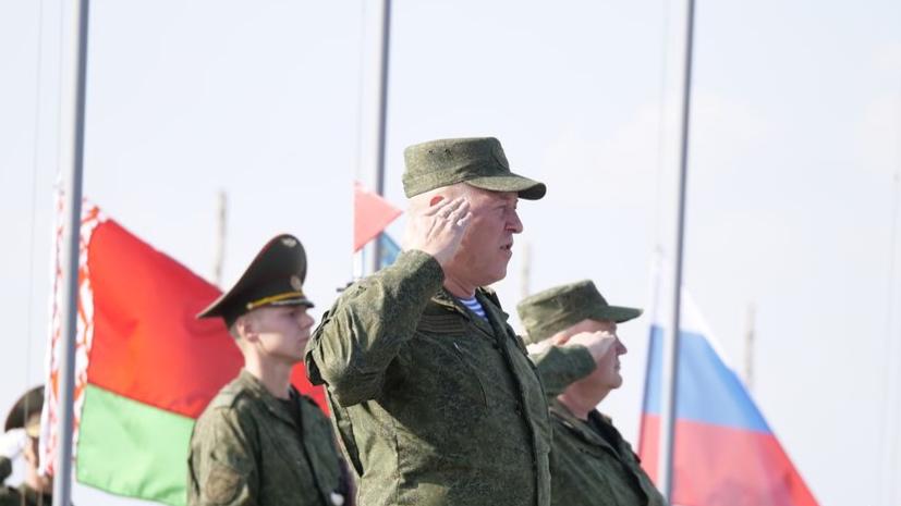 В Белоруссии стартовали российско-белорусские учения «Запад-2021»