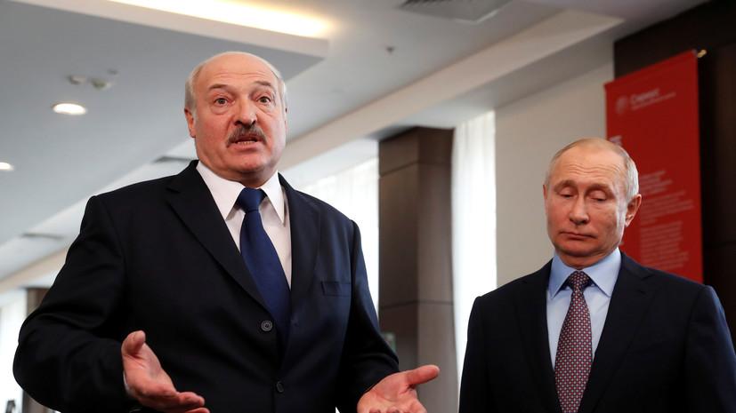 Лукашенко заявил, что принятие союзных программ будет прорывом
