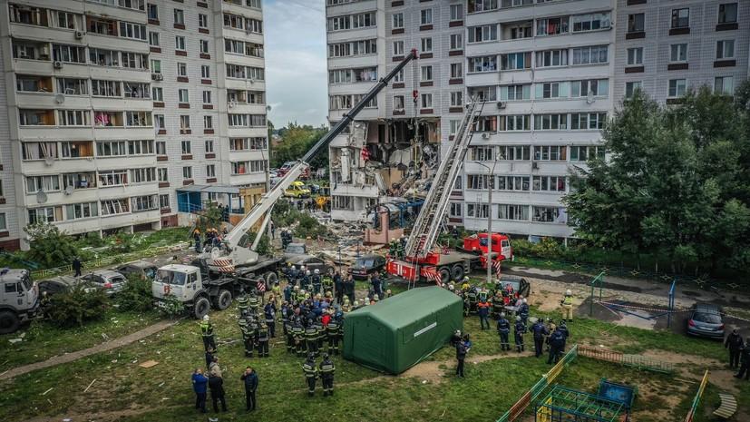 При взрыве газа в доме в Ногинске пострадали 22 человека