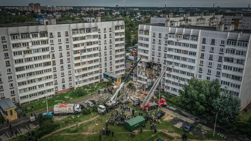 МЧС завершило аварийно-спасательные работы на месте ЧП в Ногинске