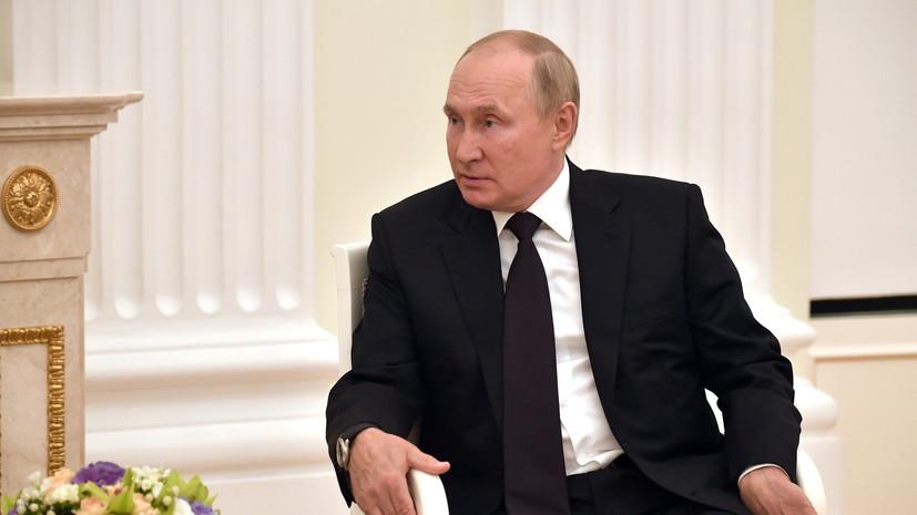 Путин сообщил о согласовании 28 программ по Cоюзному государству