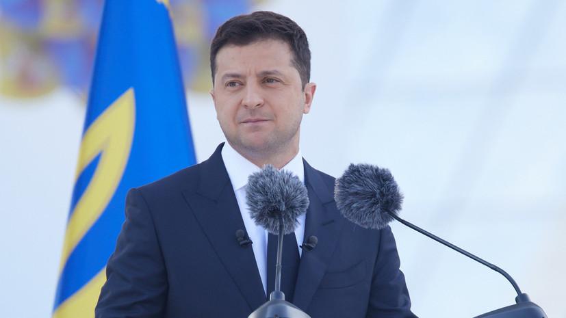 Зеленский заявил, что Украина не получила от США прямого ответа о членстве в НАТО