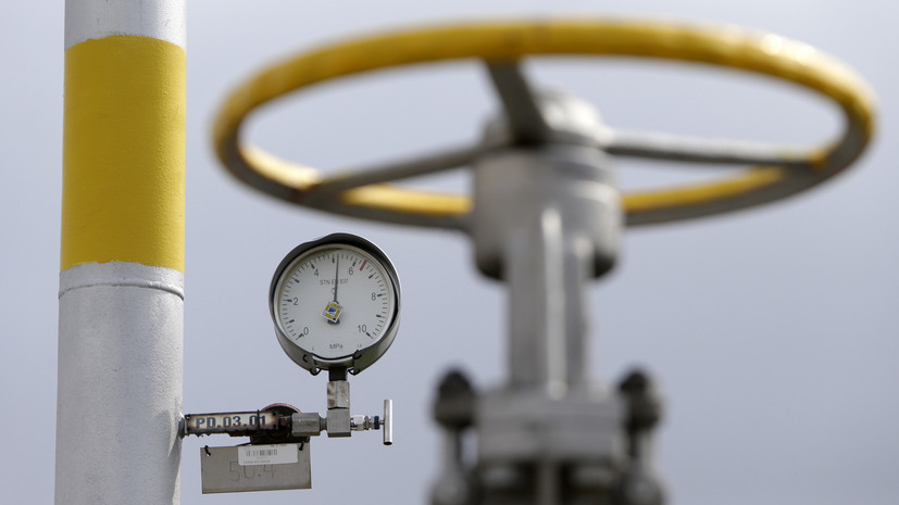 Цена газа в Европе превысила $710 за 1000 кубометров