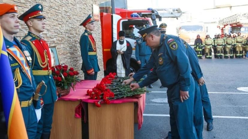 В Волгоградской области почтили память главы МЧС Зиничева