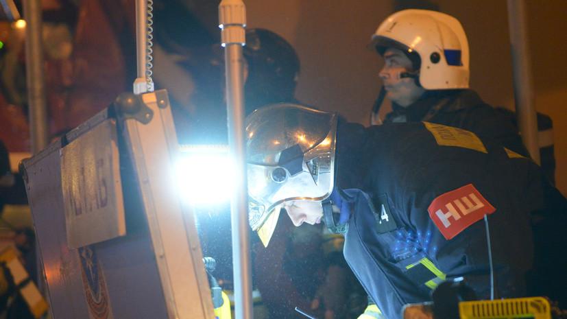ТАСС: Один подъезд дома в Ельце полностью разрушен