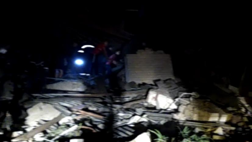 Один человек погиб из-за взрыва газа в Ельце