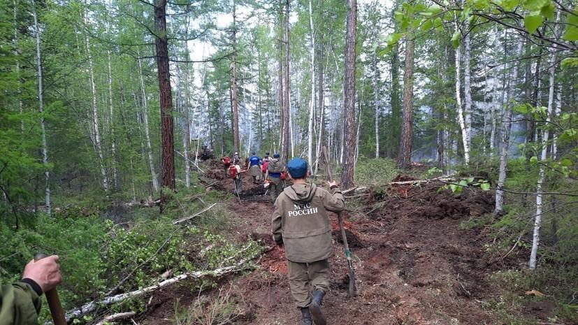 За сутки в Якутии ликвидировали 12 природных пожаров