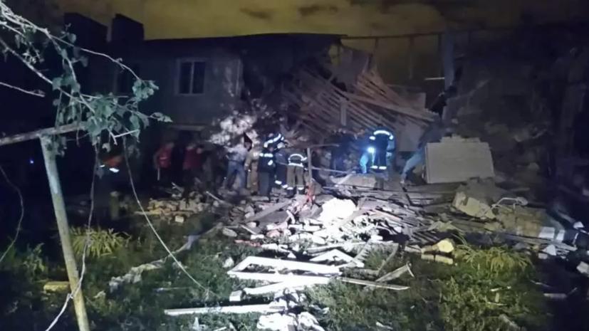 После взрыва газа в Ельце возбуждено уголовное дело