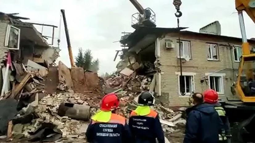 В МЧС заявили о завершении аварийно-спасательных работ в Липецкой области