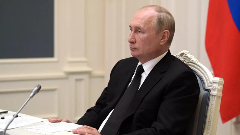 Путин прибыл в Псковскую область