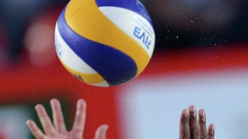 Россия выиграла вторую партию у Украины в 1/8 финала ЧЕ по волейболу