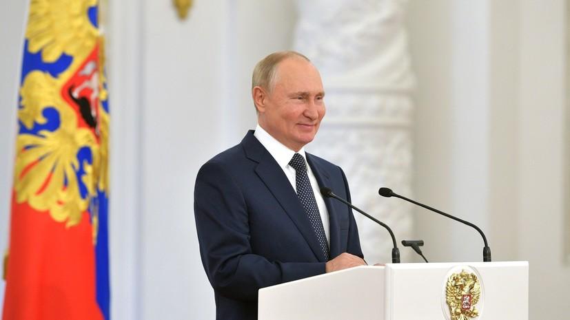 Путин наградил орденом Дружбы губернатора Курганской области