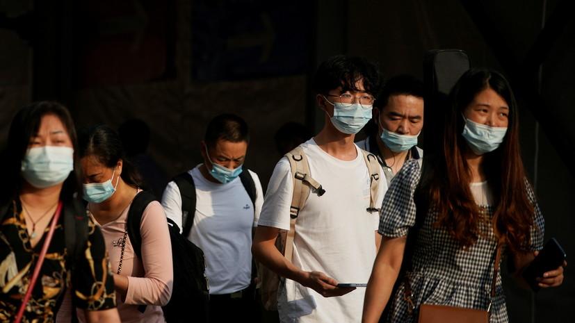 В китайской провинции Фуцзянь выявили очаг распространения коронавируса
