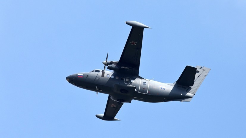 ТАСС: в Иркутской области пассажирский самолёт L-410 совершил жёсткую посадку