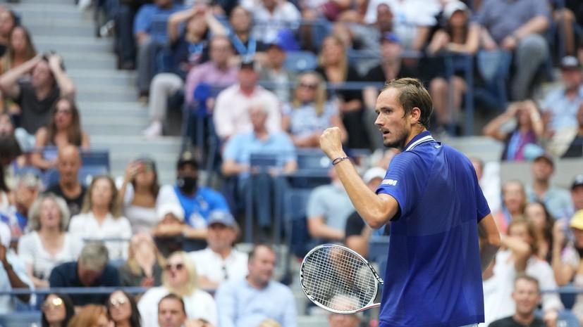 Медведев в трёх сетах победил Джоковича и впервые в карьере выиграл US Open