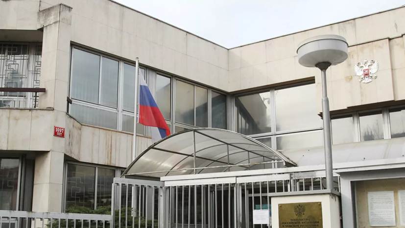 Российский консул посетила задержанного в Праге россиянина
