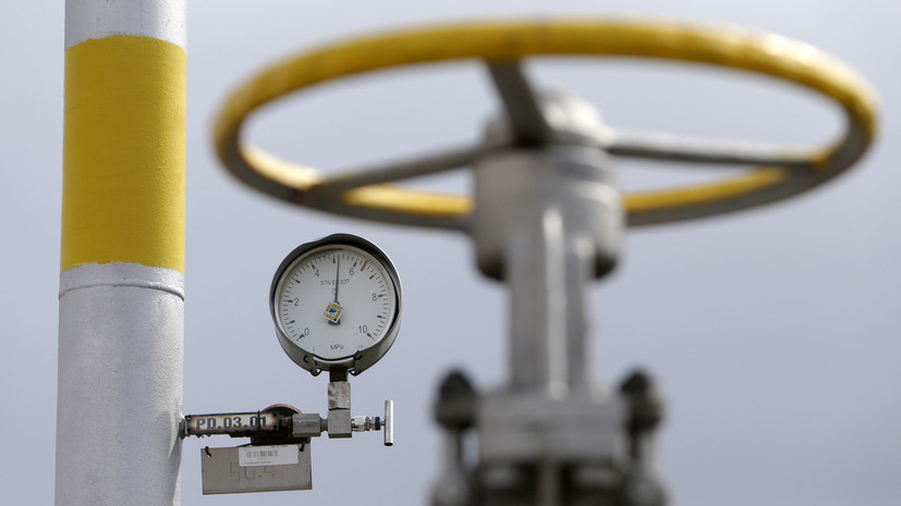 Цена газа в Европе превысила $760 за 1000 кубометров