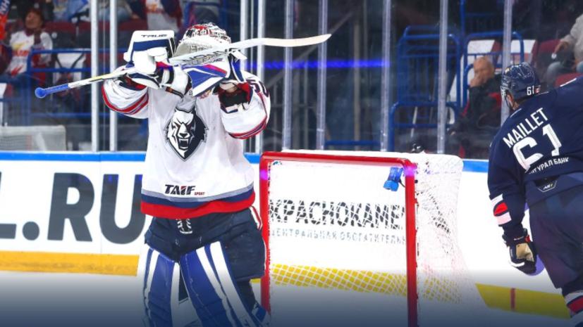 «Металлургу» разгромил «Нефтехимик» в матче КХЛ