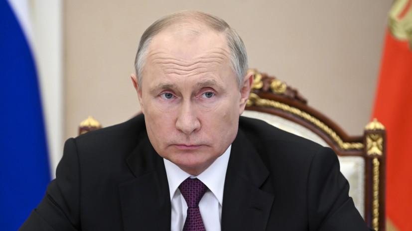 Путин призвал сохранить слаженную работу между парламентом и правительством