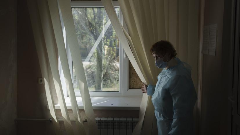 На Украине за сутки выявлено 4640 случаев СOVID-19