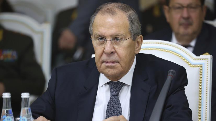 Лавров заявил о готовности России вести профессиональный диалог с НАТО