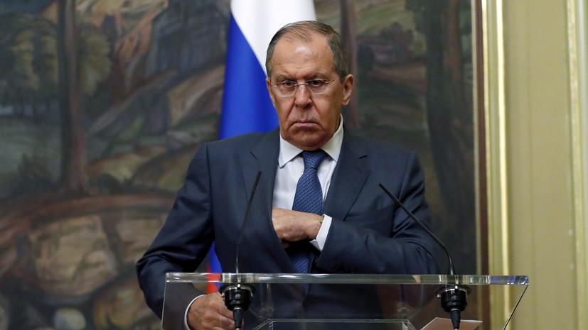 Лавров заявил о серьёзных данных о вмешательстве США в дела России