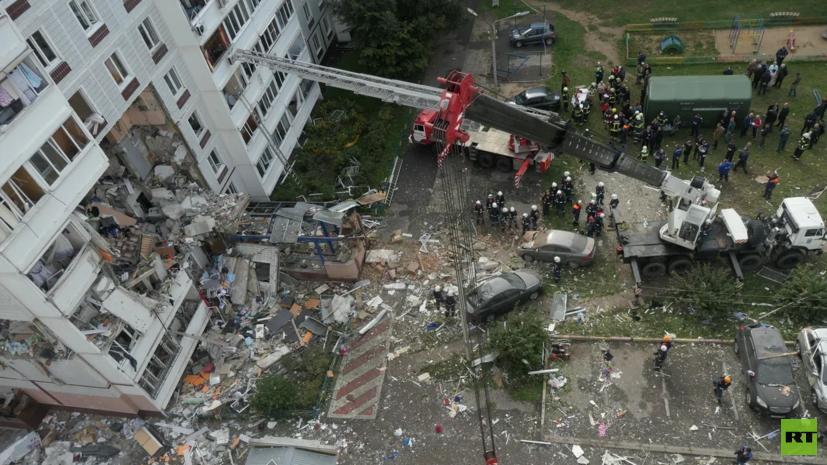 По делу о взрыве газа в доме в Ногинске задержан гендиректор частной компании