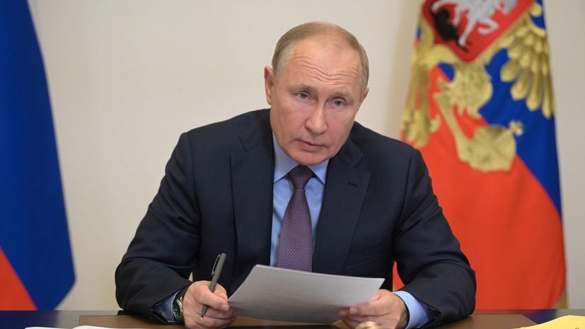 Песков заявил, что срок самоизоляции Путина определят специалисты