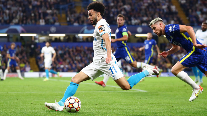 Полузащитник «Зенита» Клаудиньо остался доволен своей игрой против «Челси»