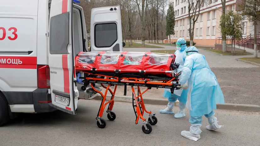 В Белоруссии за сутки выявили 1923 случая коронавируса