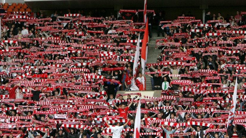 Фанаты «Спартака» нецензурно ответили на перформанс «Легии» в Москве