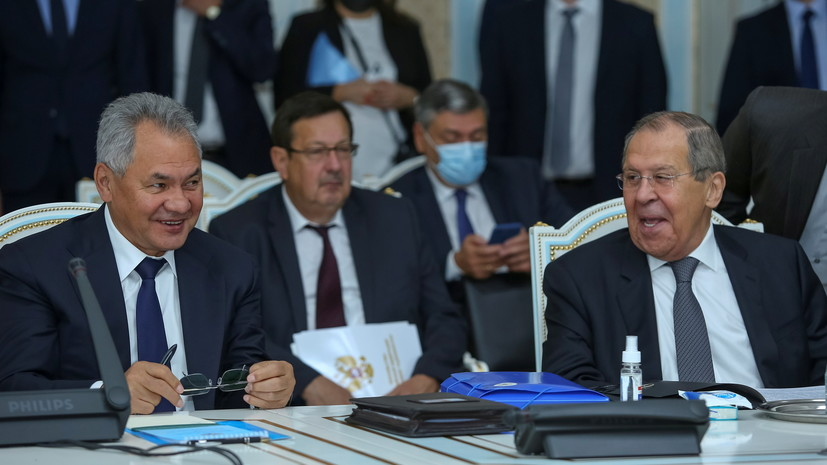 Президент Таджикистана обсудил с Лавровым и Шойгу ситуацию на границе с Афганистаном