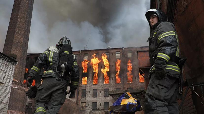 Суд оштрафовал владельцев Невской мануфактуры по делу о пожаре