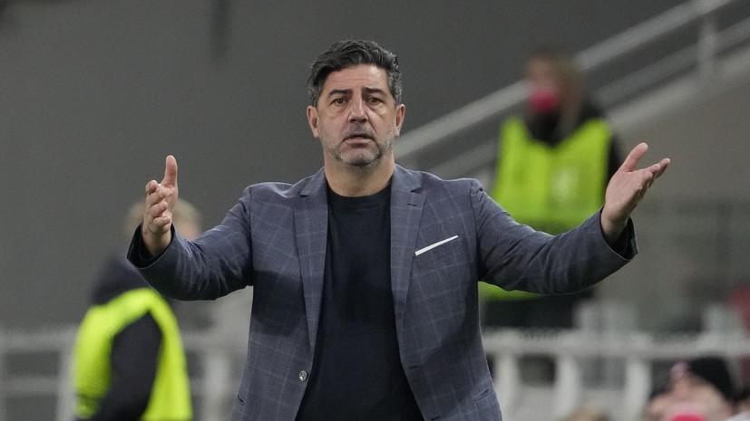 Витория заявил, что «Спартак» играл лучше «Легии» в проигранном матче ЛЕ