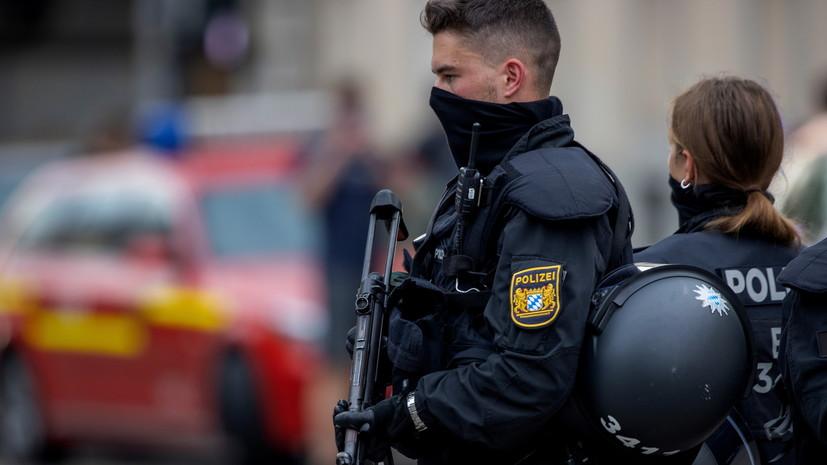 Полиция ФРГ получила данные об опасной ситуации в синагоге в Хагене