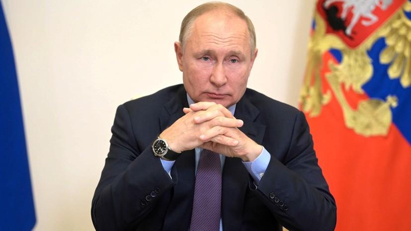 Путин: России нужен сильный и авторитетный парламент
