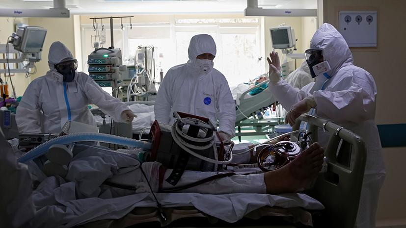 ВДНРзаявили о загруженности коронавирусных госпиталейпочти на 100%