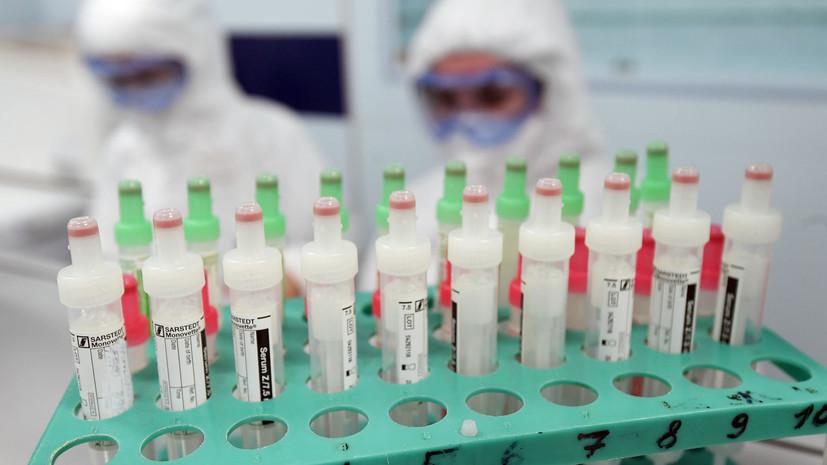 В Тамбовской области зарегистрировали 95 случаев COVID-19 за сутки