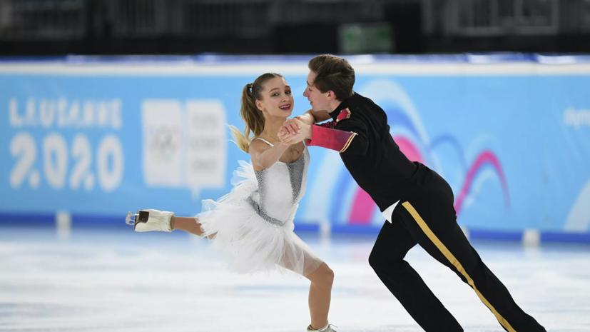 Хавронина и Чиризано стали лучшими в ритм-танце на этапе юниорского Гран-при в Красноярске