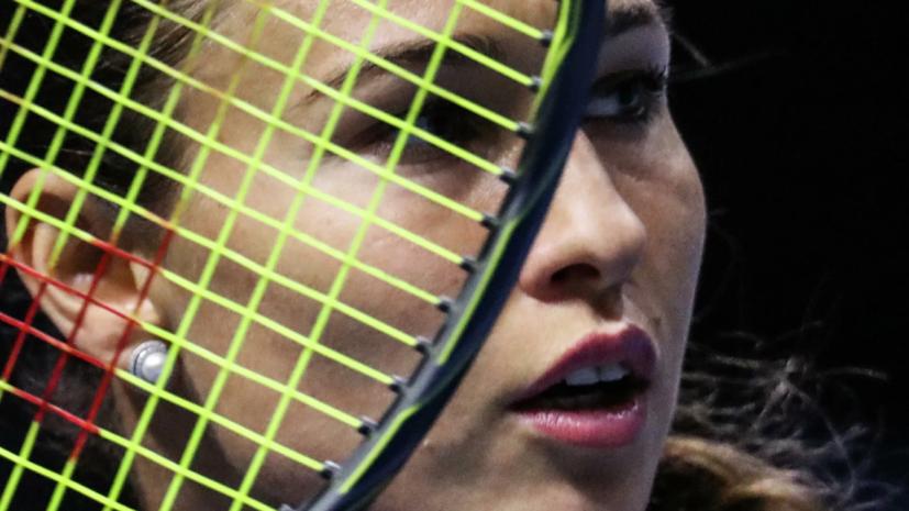 Россиянки Дьяченко и Сизикова вышли в полуфинал турнира WTA в Люксембурге