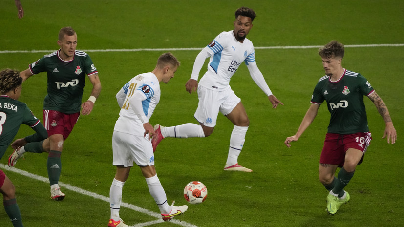 Николич остался доволен игрой «Локомотива» в матче с «Марселем»